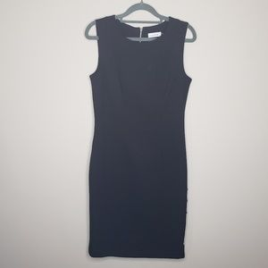 Calvin Klein Sleeveless Sheath Dress LBD